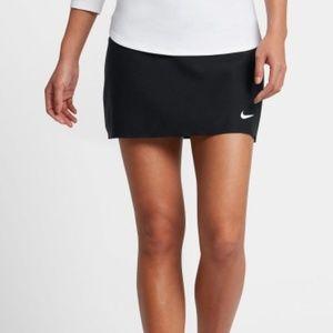 $60  NWT NIKE Court Power Spin Skort Black Tennis